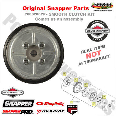 Snapper Smooth Clutch Kit / Drive Disc Assembly / 7600136YP, 7600208YP