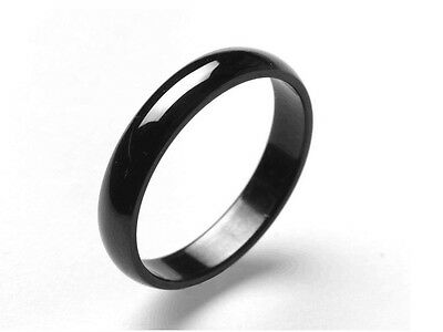 TTStyle 14mm Width Stainless Steel THICK Band Ring 3 Colours Size 6-13 NEW