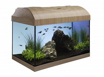 DIVERSA Startup 40 Set 25L  Aquarium Fish Tank Standard Black and Beech