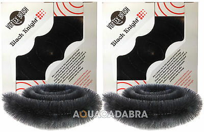2 X Genuine Black Knight Vortex Filter Brush Koi Fish Pond Multi Chamber Brushes