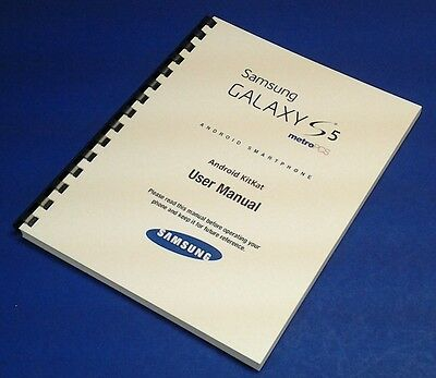 Samsung Galaxy S5 User Manual for T-Mobile (model SM-G900T)