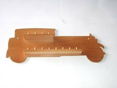 huge range - see list 12pc Dachshund Wooden Thimble Display Rack Pine