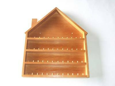 48pc House Wooden Thimble Display Rack ( Pine )( huge range - see list )
