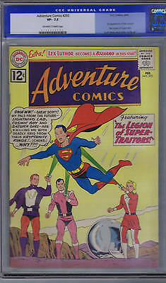 Adventure Comics #293 DC 1962 CGC 7.5