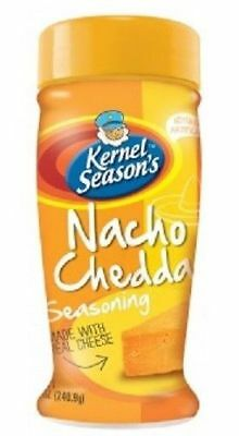 Kernel Season's All Natural Popcorn Seasoning Nacho Cheddar 2.85 oz Bottle