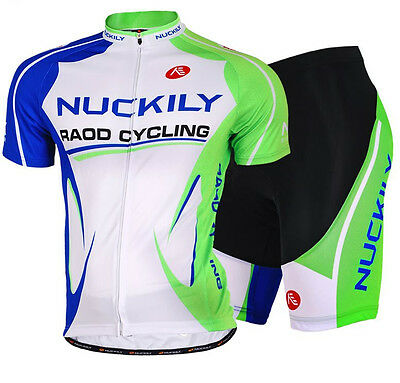 Mens Bike Cycling Short Sleeve Clothing Set Bicycle Sport Wear Suit Jersey Short
