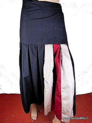 Jupe Grande Taille Noire Maxi Skirt Jupe Longue Taille 48 A 62 Jade2