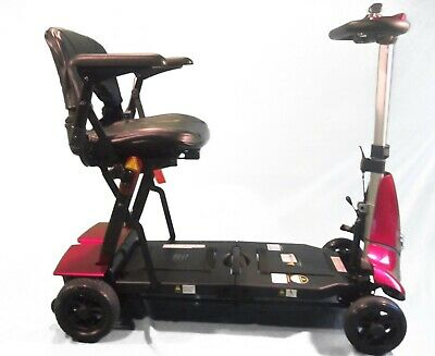 RED Mobie Folding Mobility Scooter, Travel, Compact, Lightweight, Battery Power