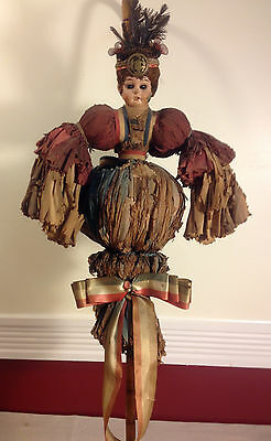 1924 DEMOCRATIC CONVENTION CANE PUPPET / HIGHLY UNUSUAL AND RARE !