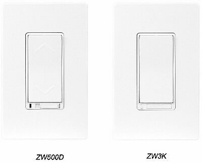 Z-Wave Wireless Wifi Control In-Wall 3-way Dimmer Switch Starter Kit