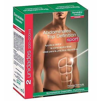 PACK 2 X SOMATOLINE HOMBRE TRATAMIENTO ABDOMINALES TOP DEFINITION 200 ml 155230