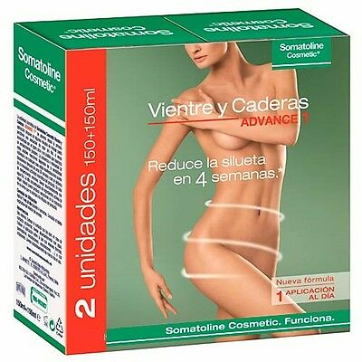 PACK 2 X SOMATOLINE VIENTRE Y CADERAS 150 ml  152155