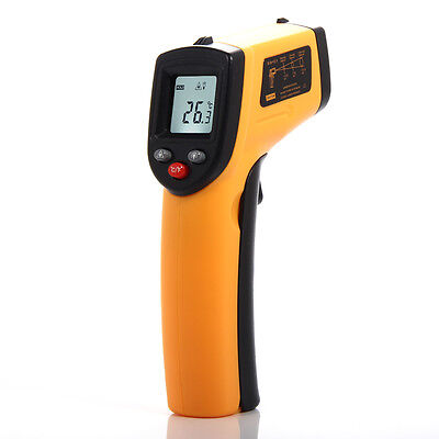 Handheld Non-Contact Digital Thermometer Sight Ir Laser Temperature Gun Infrared