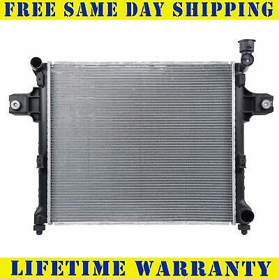 Radiator For Jeep Fits Commander Grand Cherokee 3.7 4.7 V6 6Cyl V8 8Cyl 2839