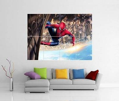 THE AMAZING SPIDER MAN 2 GIANT wall Art Poster A1,A2,A3,A4 SPID04 kids bedroom
