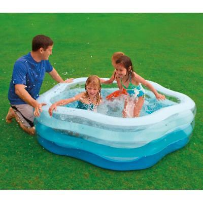 INTEX Swim Pool 185x180 Familienpool Schwimmbecken Swimmingpool Planschbecken