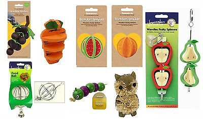 Boredom Breaker Pet Rabbit Hamster Guinea Pig Rat Mouse Gerbil Bird Toys Treats