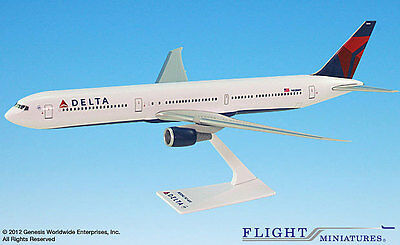 Delta Air Lines Boeing 767-400 1:200 NEU Flugzeug Modell B767 Airlines