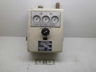 Accu-Trol Manifold Controller Model Bi-3-2-Sp Western Enterprises See Photos