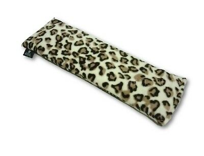 Deluxe Fleece / Fur LEOPARD Microwavable Lavender Wheat Bag Heat / Chill Pack