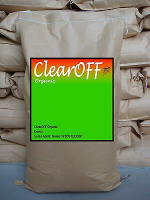 ClearOFF Chicken Coop Shield Poultry House Mite Killer DIATOMACEOUS EARTH 25kg
