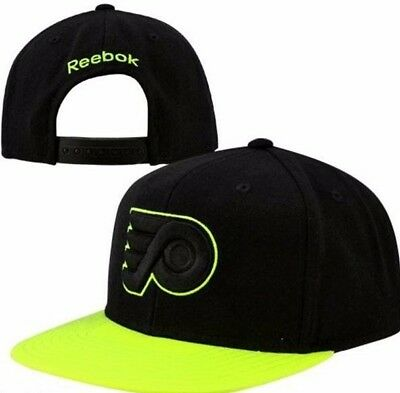 5ecb856ed04 ... wholesale philadelphia flyers reebok neon bill nhl team logo snapback hockey  cap hat e4f5d 84a49