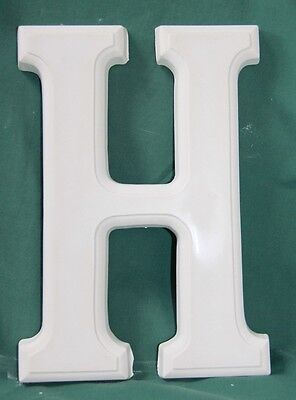 Large Letter 'H' Mould (25.5cms high) - Perfect for Plaster Craft