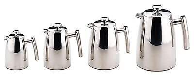 Grunwerg Belmont Stainless Steel Double Wall Cafetiere Coffee Maker 3/6/8/12 cup