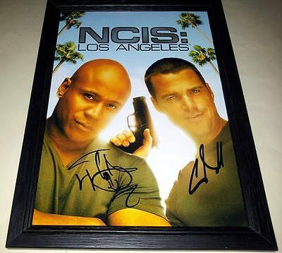 """Ncis : Los Angeles Pp Signed & Framed 12""""x8"""" A4 Photo Poster Ll Cool J N.c.i.s."""