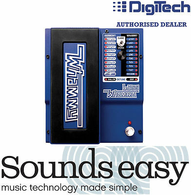 DIGITECH BASS WHAMMY - Pitch Shifting Effect Pedal for Bass Guitar + MIDI (NEW)