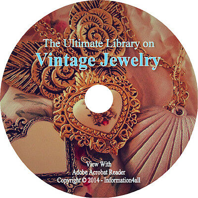 54 Books on DVD, Ultimate Library on Jewelry, How to Make Gold Silver Stones