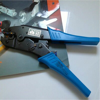 Insulated Terminals Ratchet Crimping Plier 22-10 AWG 0.5-6.0mm2 Capacity HS-30J