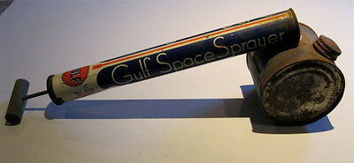 Antique Gulf Space Sprayer Model 22 10 Oz Capacity Gulfspray Insect Killer