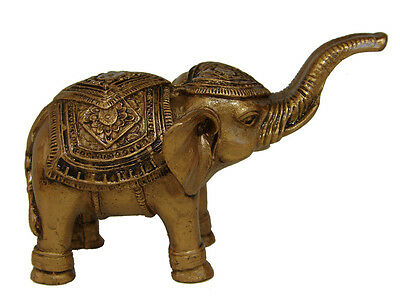 Trunk Up Elephant Statue