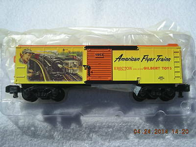 48381 1953 American Flyer Catalog Art Boxcar New In Box