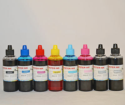 8X100ML refilling DYE ink for canon  PIXMA Pro 100 printer cli-42 cartridge ciss