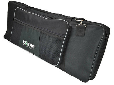 Cobra 61 Key Padded Keyboard Bag 1055 x 390 x 155mm- 2 YEAR Guarantee
