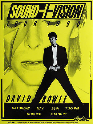 0267 Vintage Music Poster Art - David Bowie