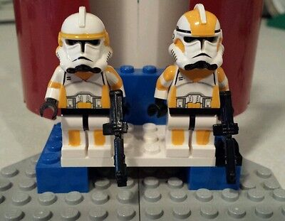 Waxer /& Boil 212th DELUX Lego Star Wars minifigures Clone Custom Troopers