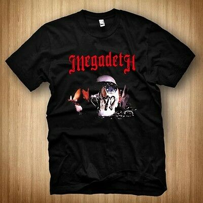 NEW *MEGADETH Killing is My Business SHORT Black t-shirt size S to 3XL dtil