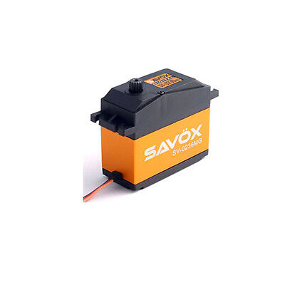 Savox Heavy Duty Jumbo Metal Geared Servo 40Kg SAV-SV0236MG