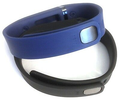 Large L 1pc Black 1pc Navy Blue Band With Clasps For Fitbit Flex /No Tracker