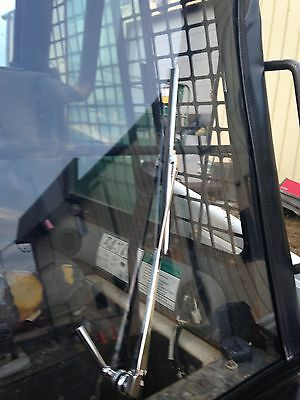 Bobcat  (Replacement Vinyl / Acrylic Front ) S100, T190, A220 A300  w/hand wiper