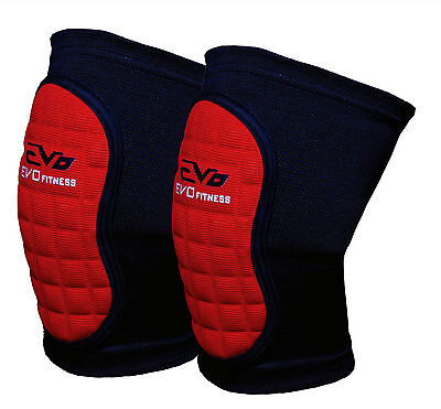 EVO Volleyball MMA Wrestling Knee Pads Guard Support Wraps Martial Arts Workwear