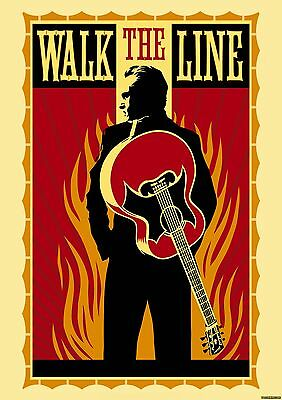 0085 Vintage Music Art Poster - Johnny Cash