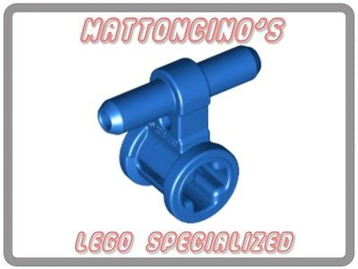 LEGO1x 99021 Blue Pneumatic Hose Connector with Axle Connector NEW
