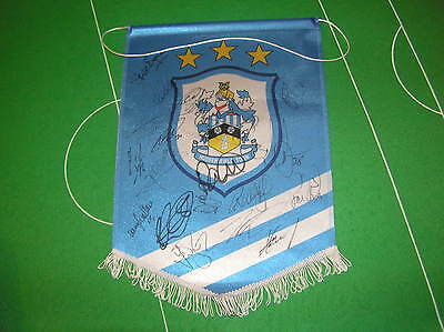 Huddersfield Town FC Pennant Signed x 19 2013/14 Players Clayton Lolley etc