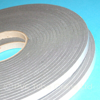 Single Sided Foam Tape 4.5mm Thick x 40mm Wide Self Adhesive 1–10 Metres