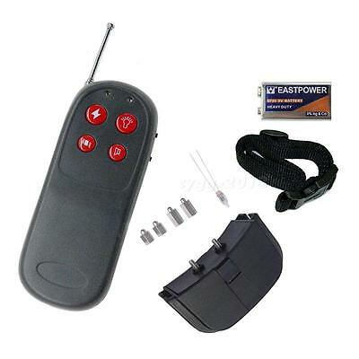 New 4in1 Remote Small Med Dog Training CGYG Shock Vibrate Collar Pet Accessory