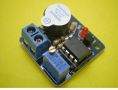 12V Accumulator Sound Light Alarm Buzzer Prevent Over Discharge Controller